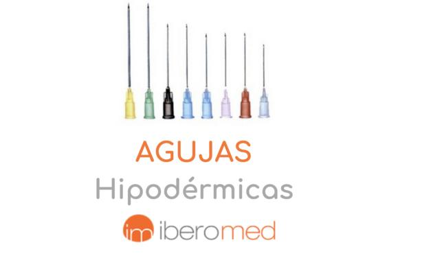 Tipos de agujas hipodérmicas para enfermería