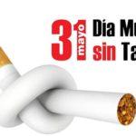 Día Mundial Sin Tabaco – 31 de mayo