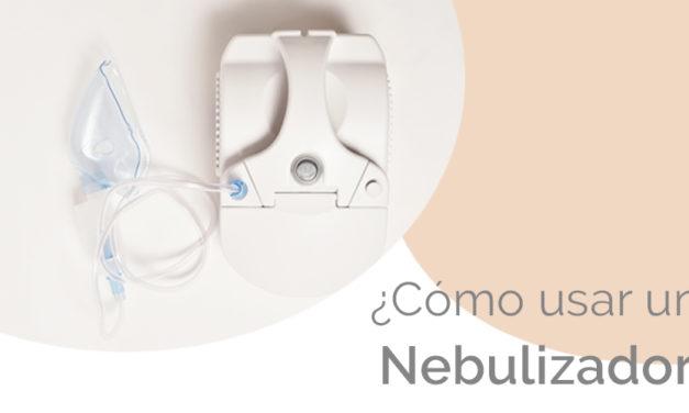 Cómo usar un nebulizador