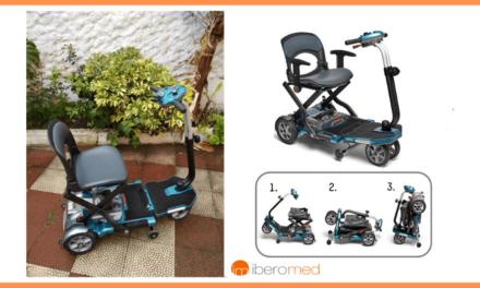 Autonomía de personas con movilidad reducida: scooter eléctrico plegable