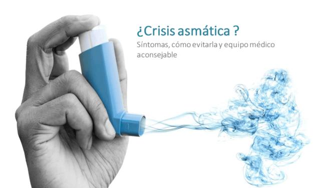 Crisis asmática: síntomas, cómo evitarla y equipo médico aconsejable