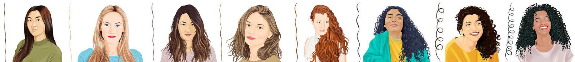 ¿Qué tipo de cabello tienes?